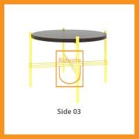 Ridente | Meja Tamu / Coffee Table / Side Table Tipe Side 03 - Hitam