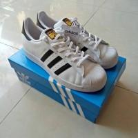 Adidas Superstar Black White Original MURAH Surabaya