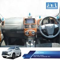 All New Rush / Terios Panel Kayu Dashboard JSL / Panel Wood Dashboard