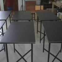 meja lipat uk.120x60 / meja makan / meja cafe / meja bazar /promo