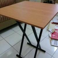 meja lipat / meja makan / meja cafe lipat / meja bazar