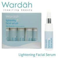 WARDAH LIGHTENING FACIAL SERUM 5 Btl @ 5ml