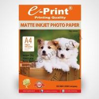 E-Print Matte Inkjet Photo Paper Kertas 108 Gsm A4 Isi 100