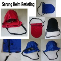 Tas HELM Resleting Anti Air Jas Hujan Sarung HELM Motor