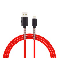 kabel data vivan FL100 2.4A 1M Spring Lightning Data Cable For iPhone6