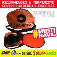 Cover Helmet UBER | Tas Helm Anti Hujan utk UBER MOTOR