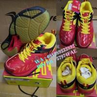 Sepatu Badminton RS SND LIMITED Merah/Kuning - Original Promo