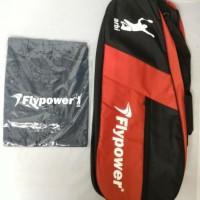 Raket Badminton FLYPOWER - Bramasta - Free Tas & Kaos Promo