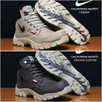 PUSAT SEPATU Sepatu Pria Boots Nike Safety Steel Toe (Ujung Besi)