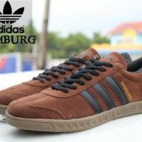 Sepatu Adidas Hamburg Coklat