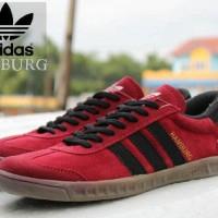Sepatu Adidas Hamburg Maroon