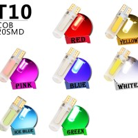 T10 194 168 W5W COB 20 Chips LED CANBUS Silica Light Bulb