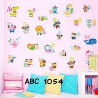 Wall Stiker Uk.60x90 Abjad Nama Binatang