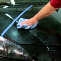 Spray Penghilang Noda Swirl Mark pada Mobil - TURTLE WAX JET BLACK WAX