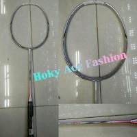 Raket Badminton Lining 3D Break-Free 80EX Silver - Orig Promo