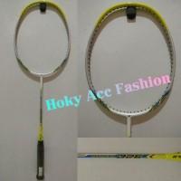 Raket Badminton Yonex Nanoray D26 Yellow/White - Origin Promo