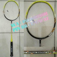 Raket Badminton Victor Brave Sword 1500 C Yellow  - Ori Promo