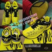 Sepatu Badminton RS SND LIMITED Kuning/Hitam - Original Promo
