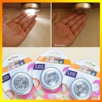 MURAH Lampu Emergency LED Tempel Darurat Stick and Click Touch LED La