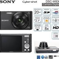 Camera Digital Sony Cybershoot DSC W830 / Resmi
