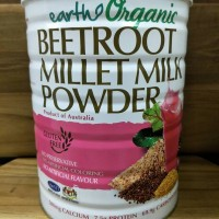 EARTH LIVING ORGANIC BEETROOT MILLET MILK POWDER