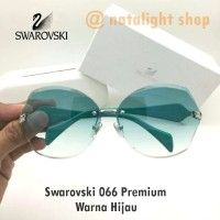 Kaca Mata Sunglasses Wanita Swarovski 066 Syahrini Premium Elegan