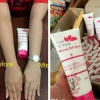 Serum Pemutih Badan Fair N Pink Whitening Bpom