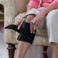 New Therapeutic Beactive Brace Point Pad Leg Black Presssure