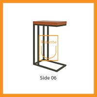 Ridente | Meja Tamu / Coffee Table / Side Table Tipe Side 06 - Cokelat