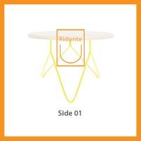 Ridente | Meja Tamu / Coffee Table / Side Table Tipe Side 01 - Cokelat