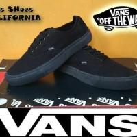 Sepatu Vans California Full Black