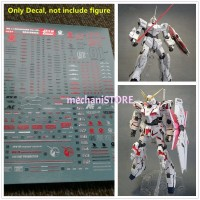 Water Decal MG Unicorn Ova ver (HD+MS Cage) Bronzing by DL MODEL