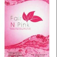 [BOX] fair n pink per kotak isi 20 sacshet (minuman pencerah tubuh)