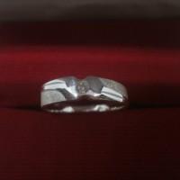 Cincin Perak 925 Minimalis Model PR018