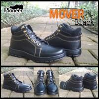 sepatu pioneer mover black / sepatu murah / best seller / boots