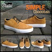 SIMPLE CHOCOTAN sneakers  / sepatu murah / suede / sepatu best seller