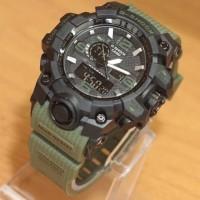 Jam Tangan Pria Casio G-shock MudResist Black Green Army