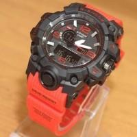 Jam Tangan Pria Casio G-shock MudResist Black Red