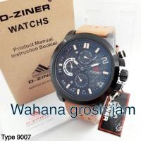 jam tangan pria D- ZINER 9007