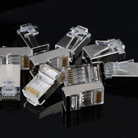 RJ45 STP RJ 45 Metal Satuan / Eceran Shielded CAT 5E