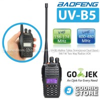 Baofeng Walkie Handy Talkie HT UV-B5/UVB5 DualBand Free Earset