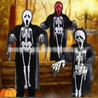 kostum tengkorak cosplay halloween