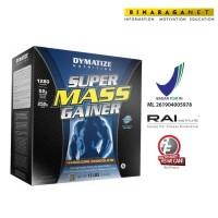 Super Mass Gainer Dymatize 12 Lbs Coklat/ Meningkatkan berat badan