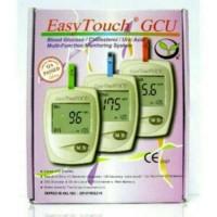 alat cek gula darah, asam urat, kolesterol@ easy touch GCU