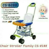FAMILY BABY CHAIR BABY STROLLER CS 8288 KURSI MAKAN ANAK MULTICOLOR