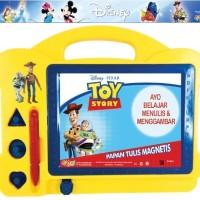 M110 Papan Tulis Magnet / Magnetis Anak Motif Disney Premium Quality