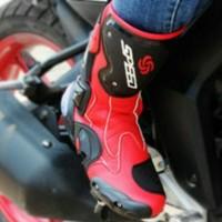 Aksesoris S9 Sepatu Speed Biker High