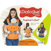 Dialogue Baby Gendongan Bayi Hipseat - Motif Karakter Gajah DGG 1001