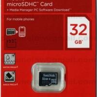 Memory Card Sandisk 32GB Micro SD