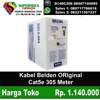 Kabel Belden Cat5e ORiginal panjang 65 meter